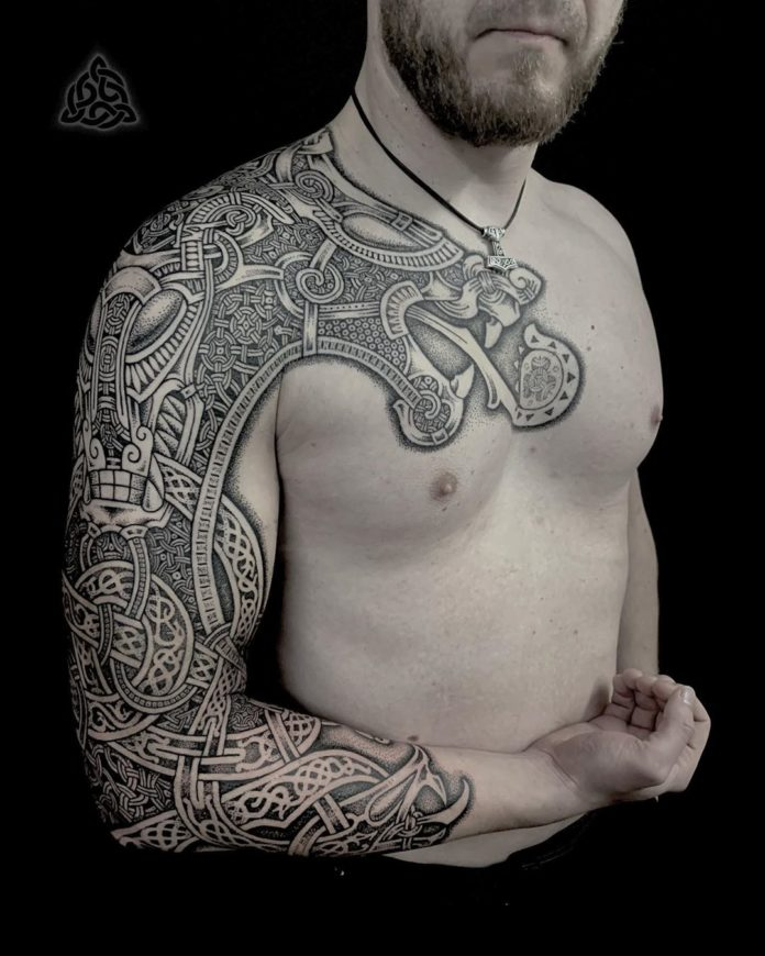 19 15-80 tatouages Viking pour hommes