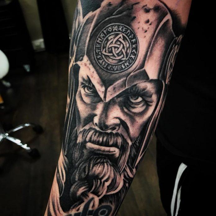 2 15-80 tatouages Viking pour hommes