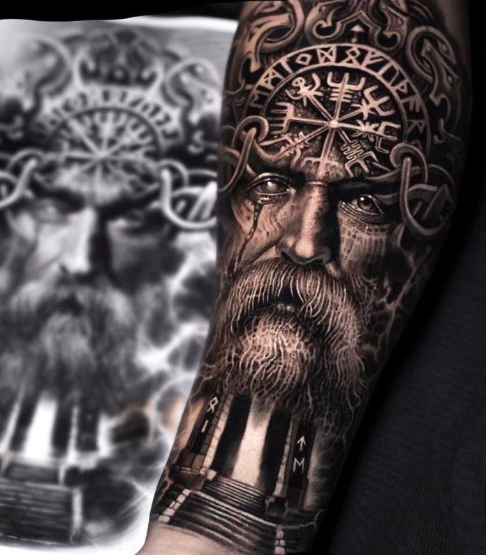 37 13 - 80 tatouages Viking pour hommes