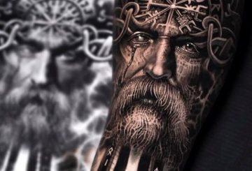 80 tatouages Viking pour hommes 6