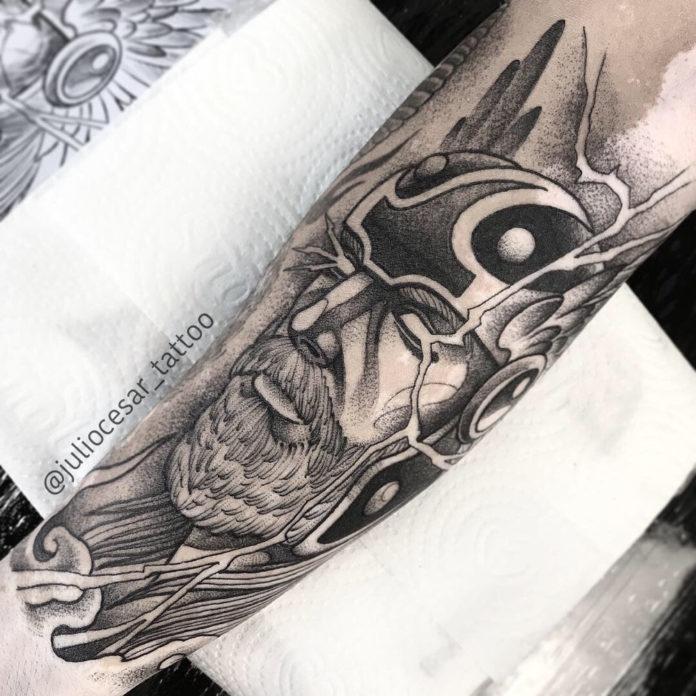41 5-80 tatouages Viking pour hommes