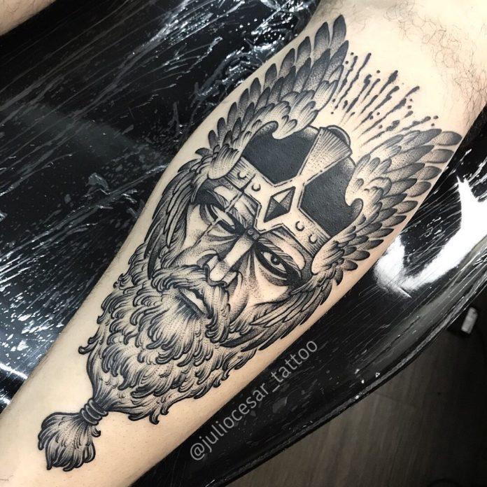 42 5-80 tatouages Viking pour hommes