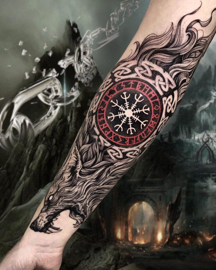 43 5-80 tatouages Viking pour hommes
