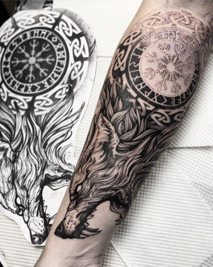 46 5-80 tatouages Viking pour hommes
