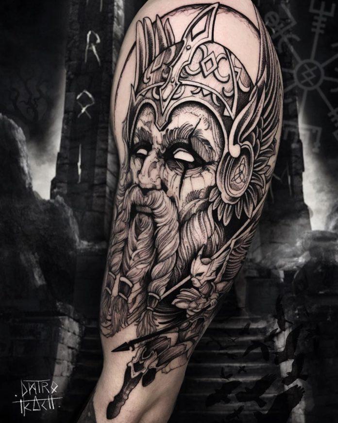 48 6 - 80 tatouages Viking pour hommes