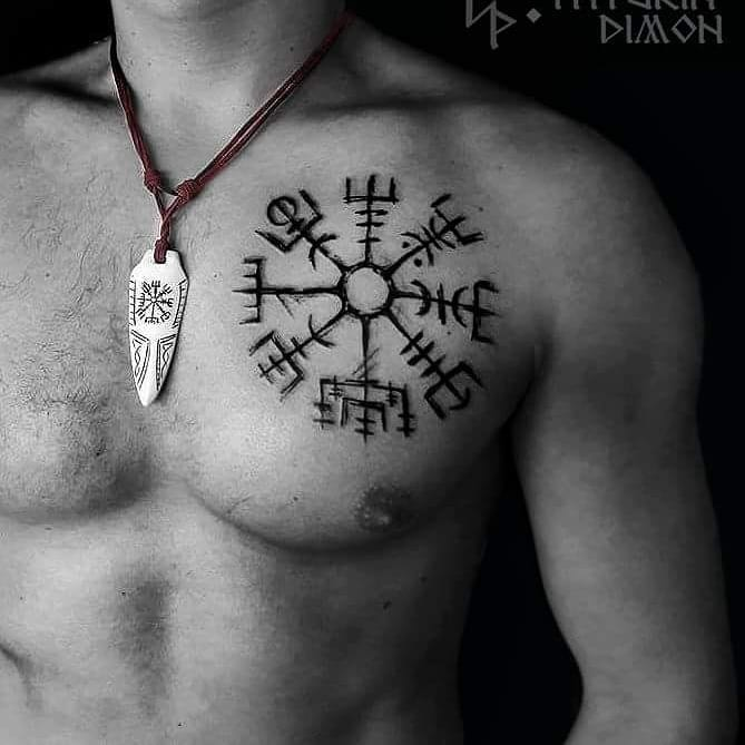 51 1-80 tatouages Viking pour hommes