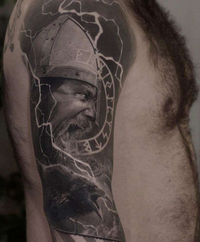 58 1 - 80 Tatouages Viking pour Homme
