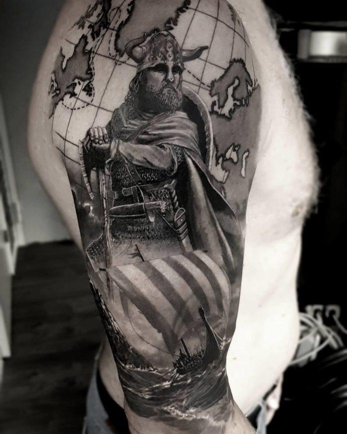 59 1 - 80 Tatouages Viking pour Homme