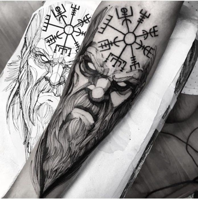 64 1 - 80 Tatouages Viking pour Homme