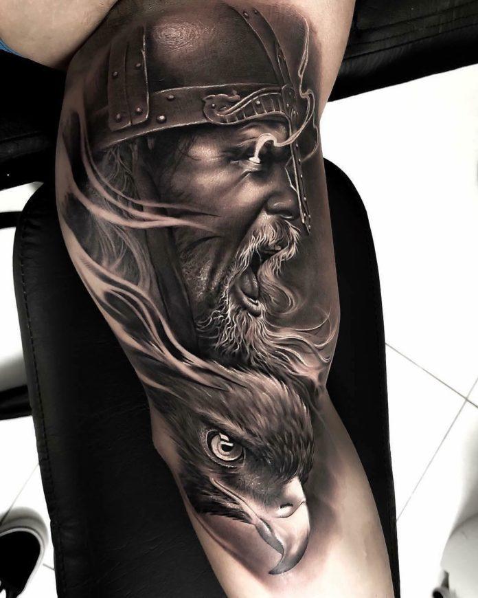 79 1 - 80 Tatouages Viking pour Homme