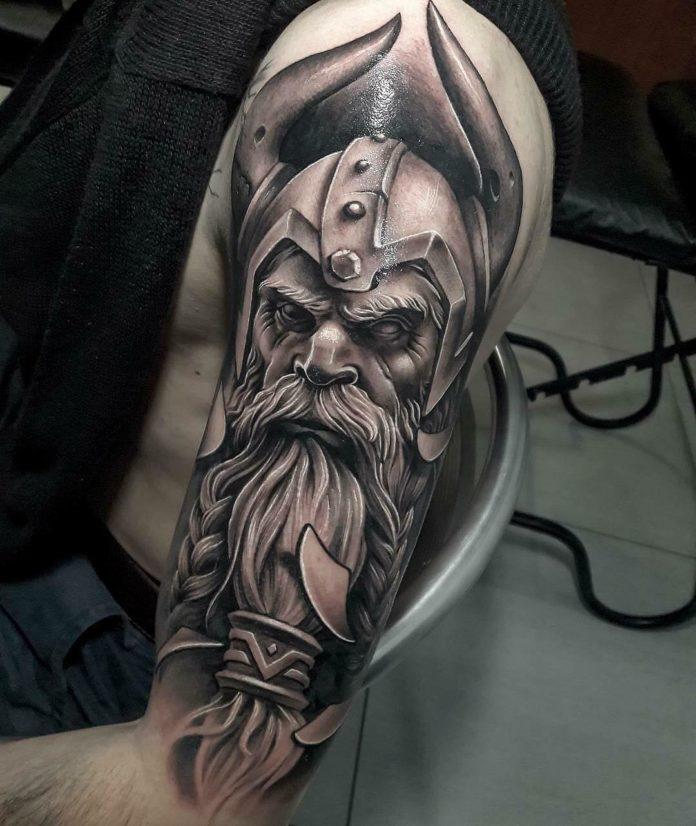80 1 - 80 Tatouages Viking pour Homme