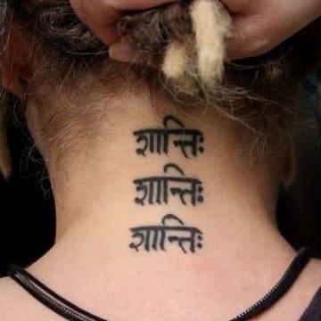 Conceptions et idées étonnantes de tatouage sanscrit 8