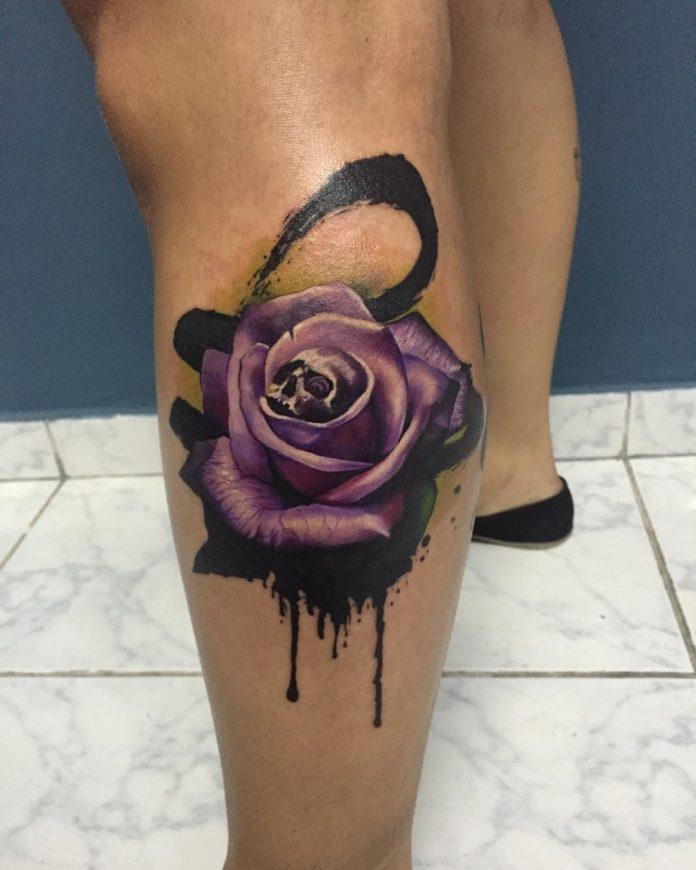 16 14-40 tatouages de veau pour femmes