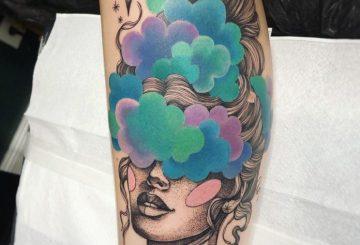 40 tatouages de veau inspirants pour les femmes 5