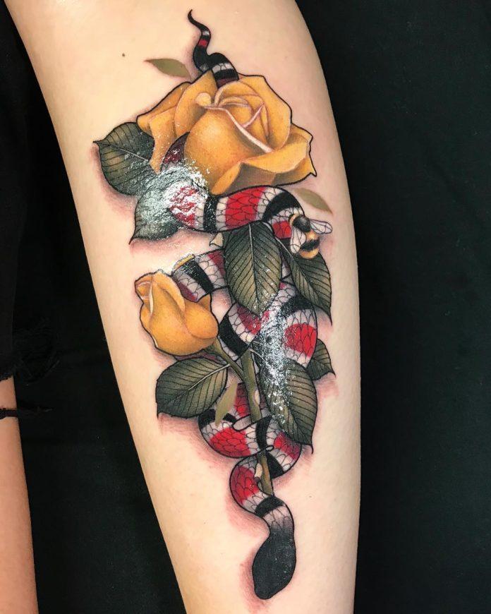 28 15-40 tatouages de veau pour femmes