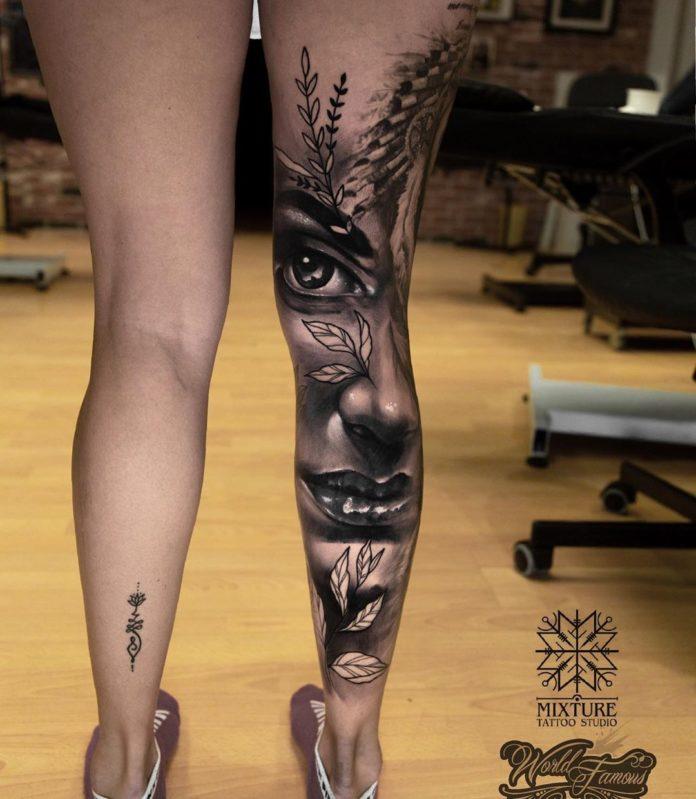 30 13-40 tatouages de veau pour femmes