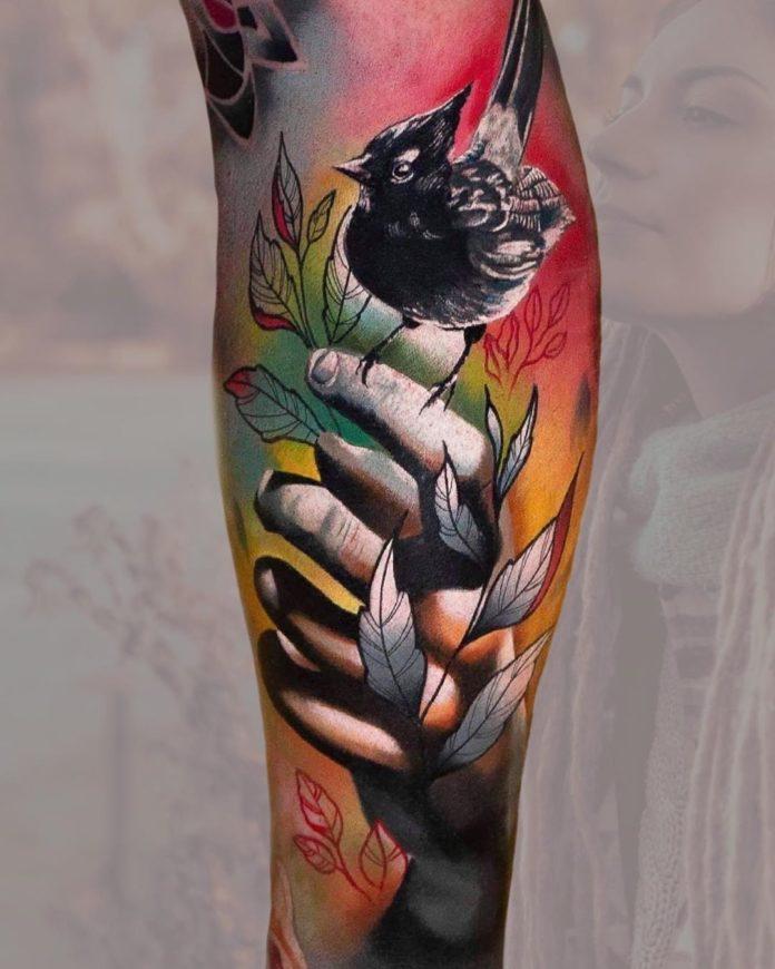 31 15-40 tatouages de veau pour femmes