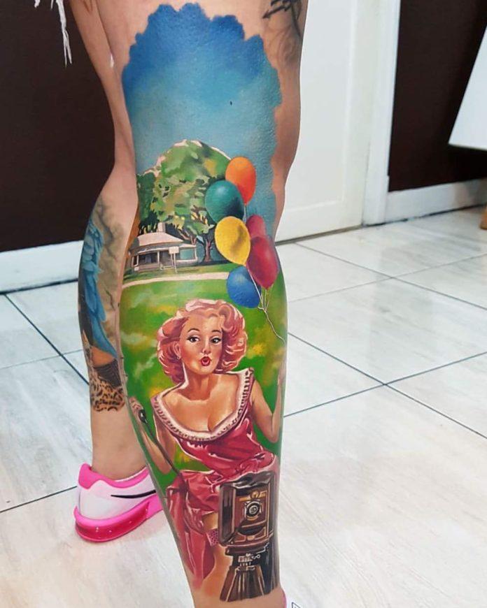 34 15-40 tatouages de veau pour femmes