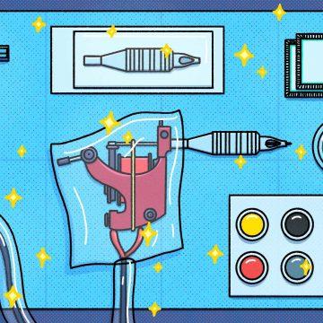 Comment entretenir les meilleures machines à tatouer 8