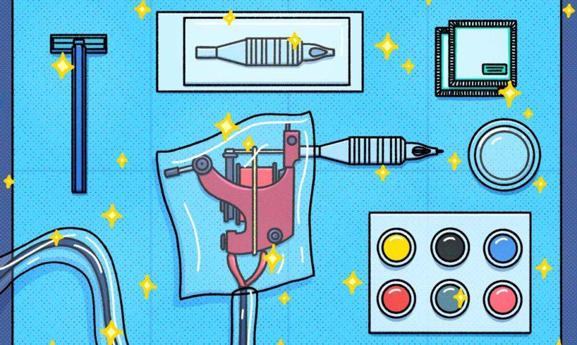 Comment entretenir les machines à tatouer