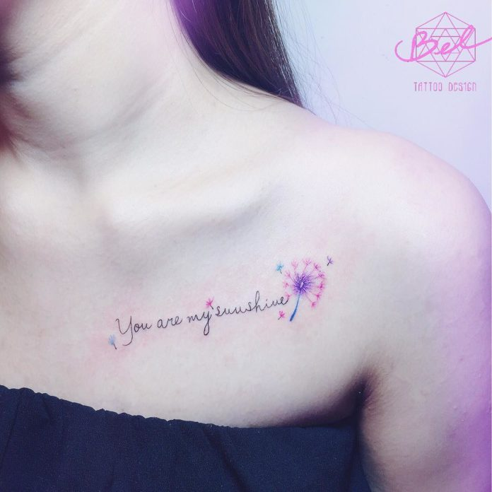 27 19-40 tatouages de pissenlit pour les femmes
