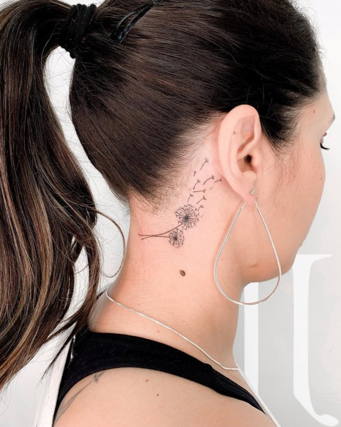 29 16-40 tatouages de pissenlit pour les femmes