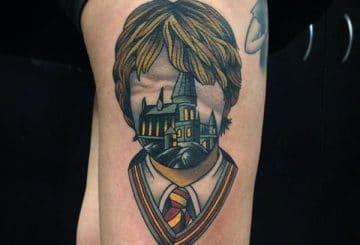 Dessins et idées de tatouages magiques Harry Potter pour vous 1