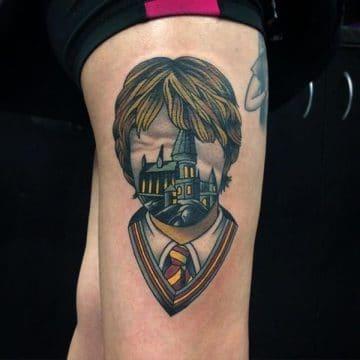 Dessins et idées de tatouages magiques Harry Potter pour vous 34