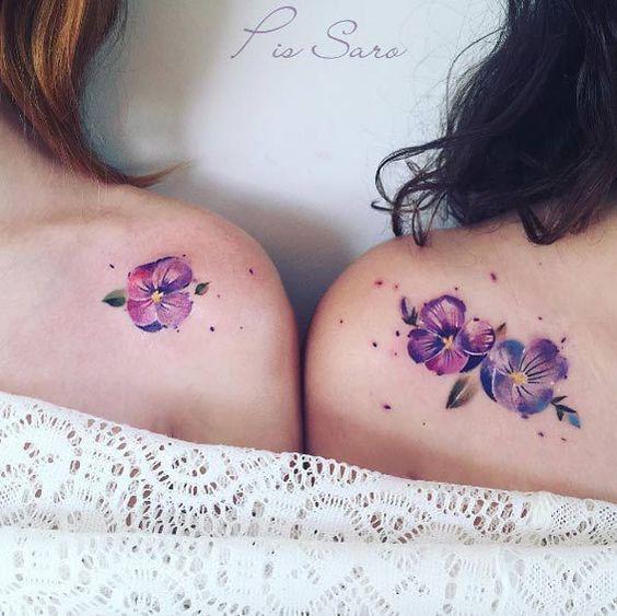 Tatouages d'épaule De Beaux Coquelicots
