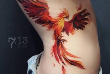 40 meilleurs tatouages à l'aquarelle dans le monde 2