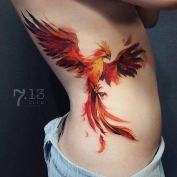 40 meilleurs tatouages à l'aquarelle dans le monde 8