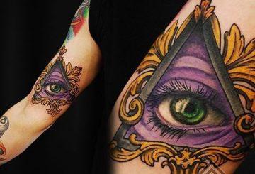 30 conceptions de tatouage mystérieux de l'œil de la Providence 2