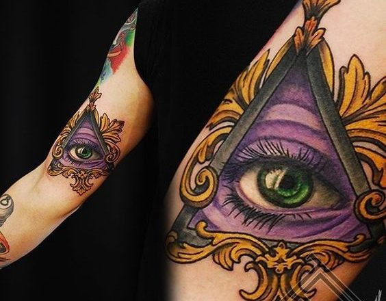 30 conceptions de tatouage mystérieux de l'œil de la Providence 1