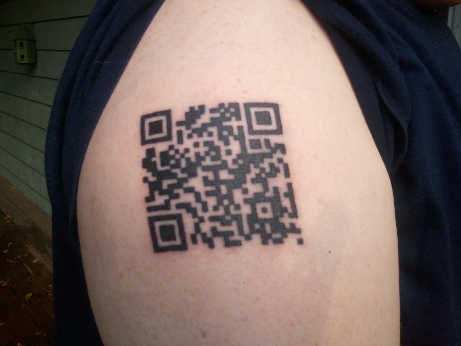 QR code à portée de main