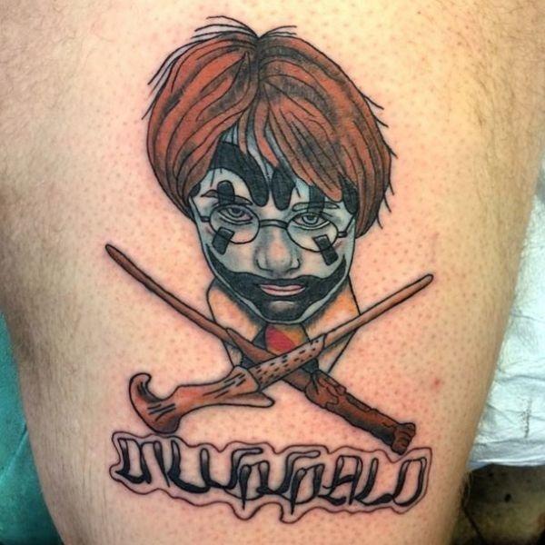Dessins de tatouage Harry Potter