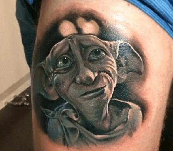 Dessins de tatouage magiques de Harry Potter