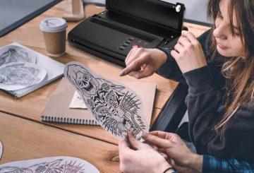 L'imprimante thermique pour transférer les tatouages 4