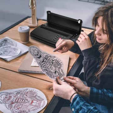 L'imprimante thermique pour transférer les tatouages 3